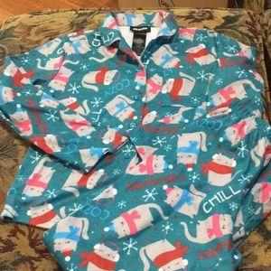 Joe Boxer winter pajama set. NWOT